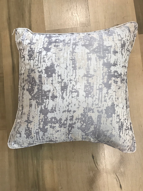 Abstract Grey Cushion