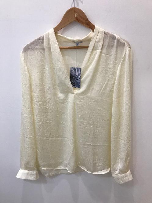 Prue Top Shirt - Antique White