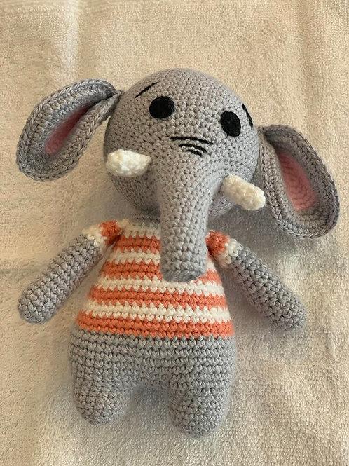 TOYS - Edward the Elephant (orange)