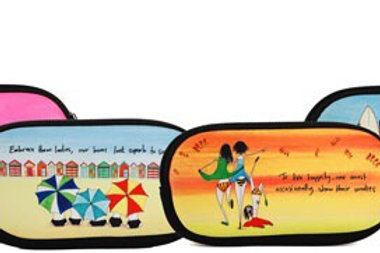 IMAGINE ELLIE - Sunglasses/Glasses Case (green)