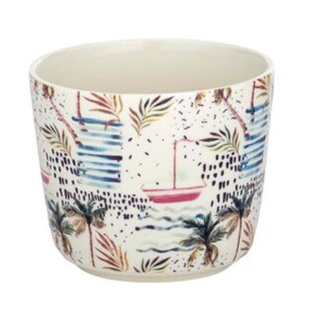 COAST TO COAST HOME - Tropics Ceramic Pot