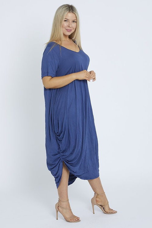 COTTON VILLAGE Frankie Dress - Blue