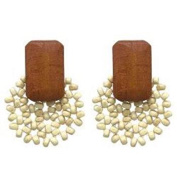 ANNA NOVA - Wood Earrings