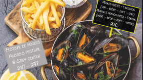 What's the strongest seafood? A mussel!
