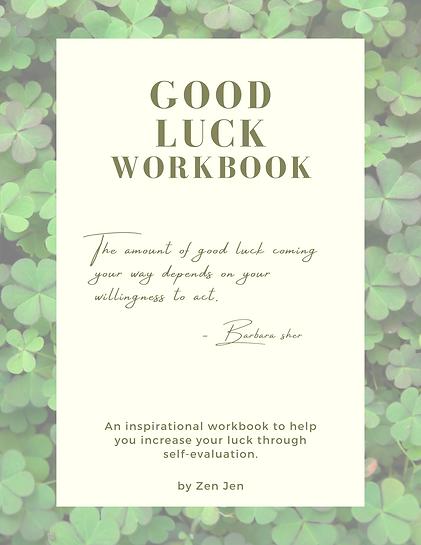 Good Luck Workbook Cover