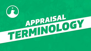 Appraisal Terminology