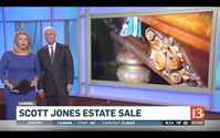 Scott Jones plans estate sale