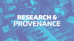 Research and Provenance