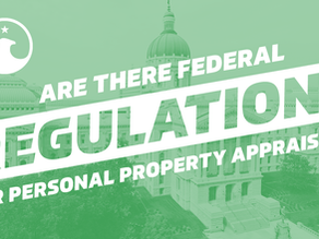 Are there Federal regulations for Personal Property Appraisers?