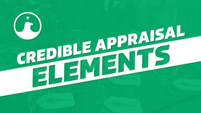 Essential Elements of a Credible Appraisal