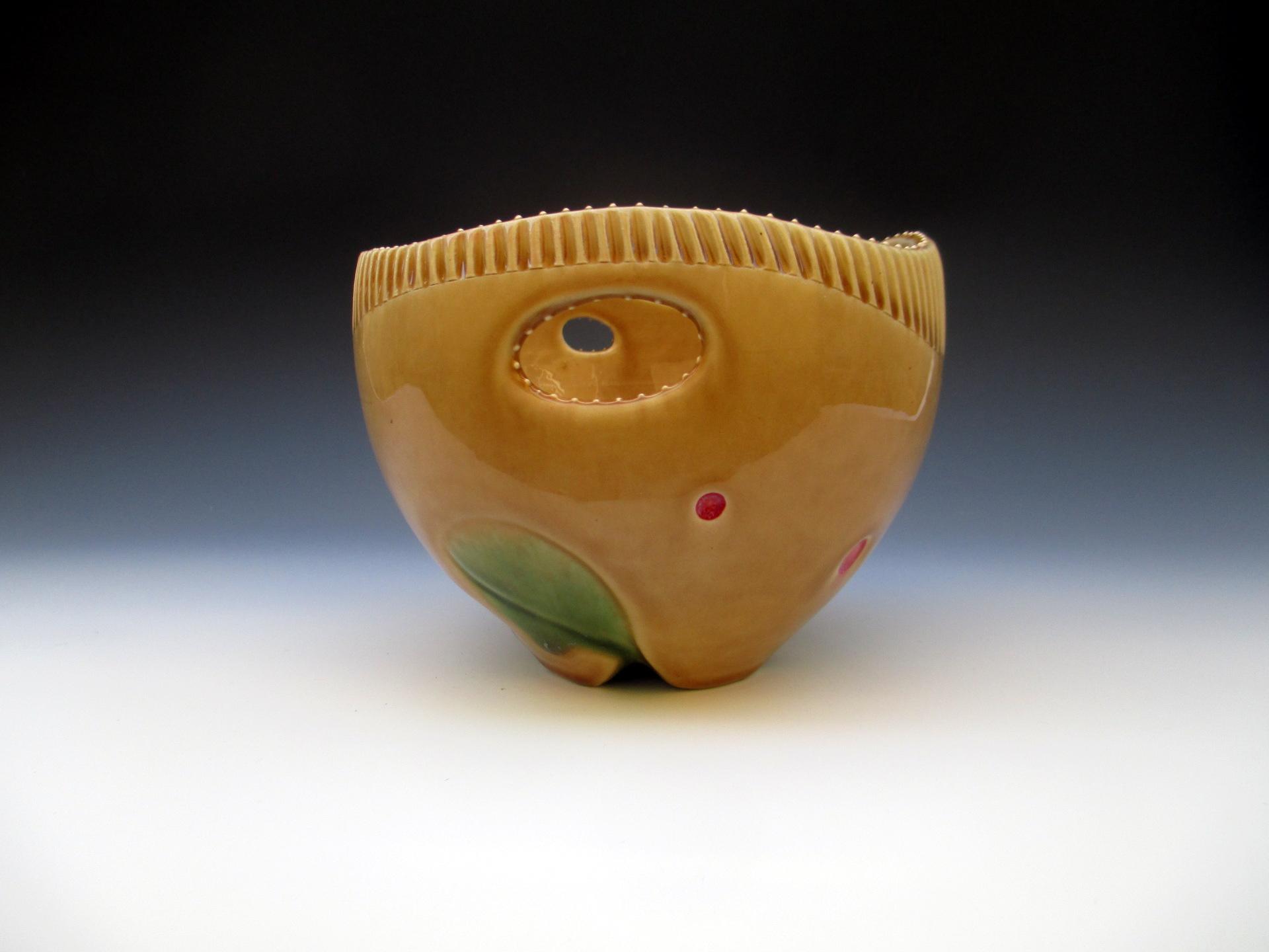 Flutted Bowl