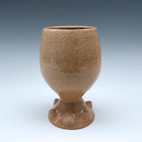 Frozen Stoneware Goblet