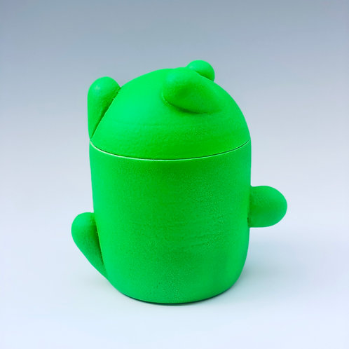 Bloopish Jar in Green