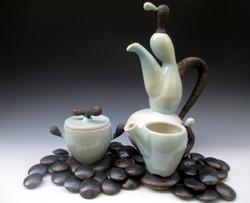 Tea at Lake Biwa