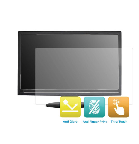 Anti-Glare and Anti Finger Print Screen Protector (3 Pack) for 25 Inches Monitor