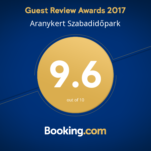 Booking 9,6! Rendkivüli, exceptional