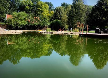 Villa Aranykert Vének öko-tó