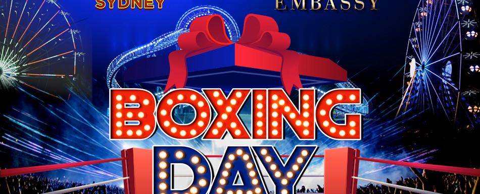 OPM Boxing Day RNB vs EDM DEC 26