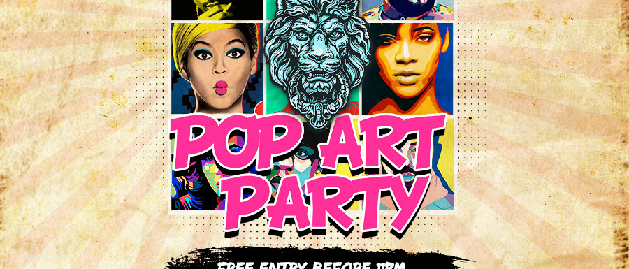 Embassy Presents: Pop Art Party
