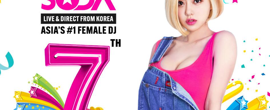 OPM 7th Birthday Ft DJ SODA LIVE & DIRECT FROM KOREA