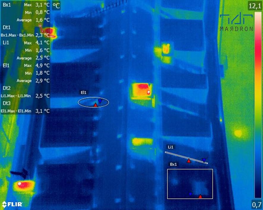 Termowizja dronem