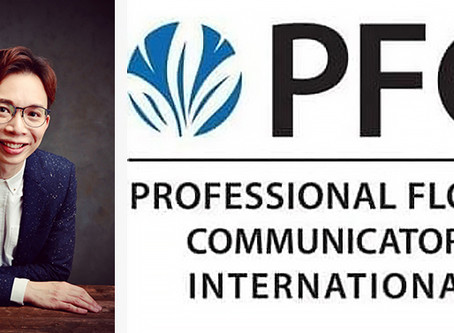 Dr. Solomon Leong join the Professional Floral Communicators  International (PFCI) family!