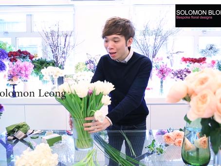 Solomon Flowers demonstration at Thursd