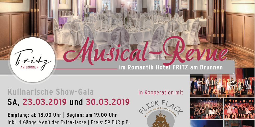 Musical-Revue: Das Musical Dinner