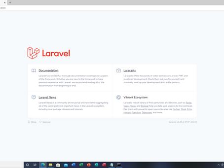 Laravel演習 01.PHP~Composerとlaravelのインストール
