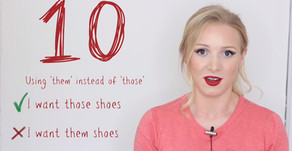 10 ไวยากรณ์ผิดๆที่ทำให้คนอังกฤษมีเคือง!