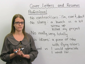 เก่งภาษาอังกฤษ ทำให้ได้งานใหม่ถูกใจไม่ใช่เรื่องยาก : คำศัพท์และไวยากรณ์ที่ใช้ในเอกสาร Resume และ Cov