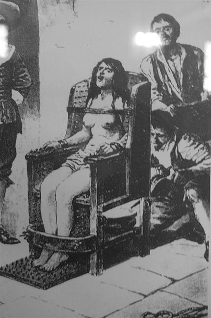 Ведьмино кресло в действии