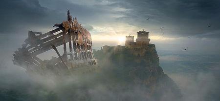 Каэр-Аэдд, крепость красных драконов