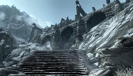 Халлорм, крепость белых драконов
