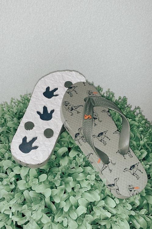 Dino Flip-Flops