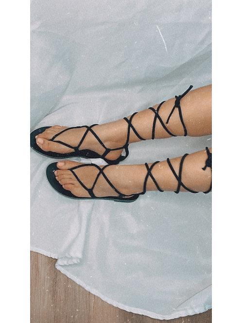 Grecia Sandals Black