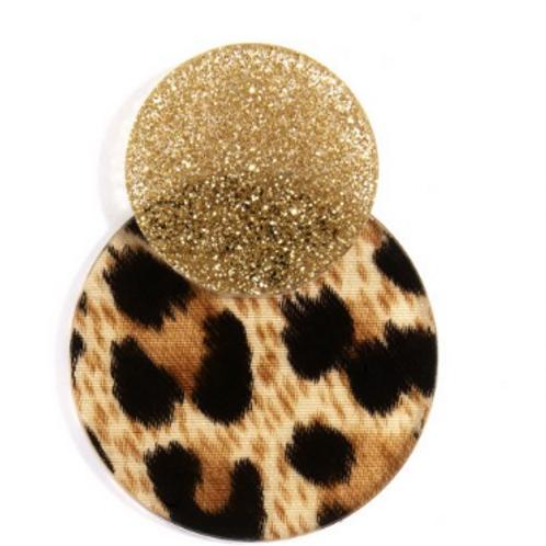 Leopard Earring