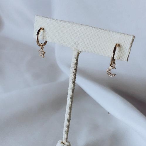 Night Gold Earrings
