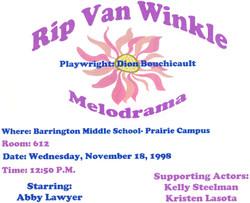 Rip Van Winkle