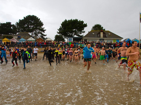 New Years Day Dip 2018