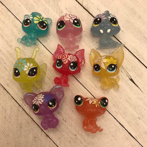LPS Authentic Mini Pets -ONLY 1 Left Orange Frog-