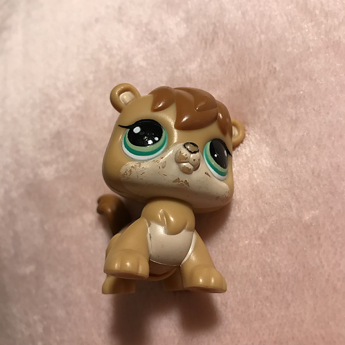 LPS Authentic Walkable Squirrel (works)