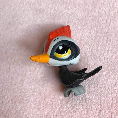 LPS Authentic Woodpecker Bird