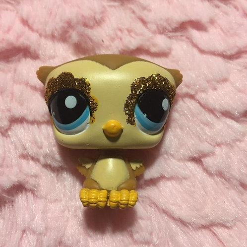 RARE LPS Authentic Owl Bird