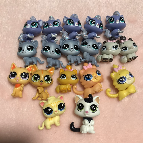 LPS Mini Cats -Pick One, Swipe to see Number Options