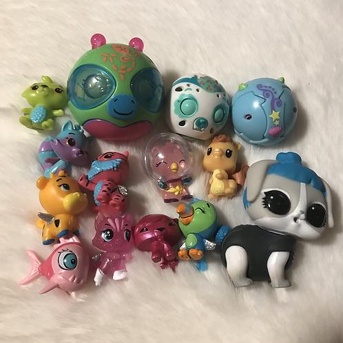 Random toy lot for Crystal