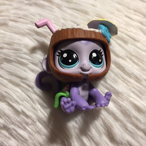 LPS Authentic Thirsty Pet Monkey