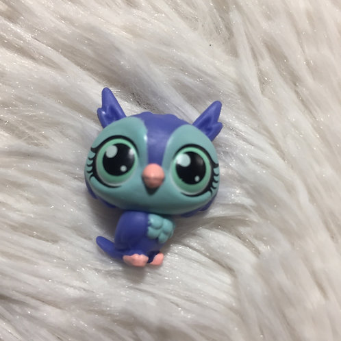 LPS Authentic Mini Owl Bird