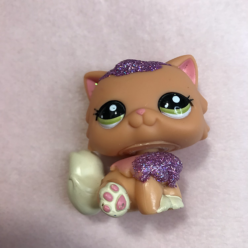 RARE LPS Authentic Glitter Cat