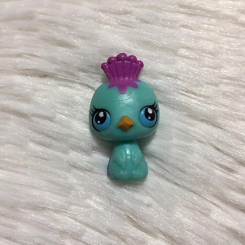 LPS Authentic Mini Peacock Bird